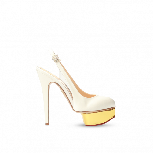 SLING BACK PLATEFORME CHARLOTTE OLYMPIA