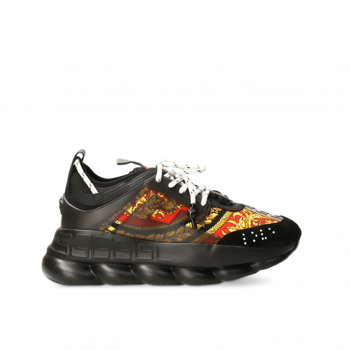 CHAIN REACTION SNEAKERS VERSACE