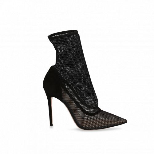 Mesh Ankle Boots