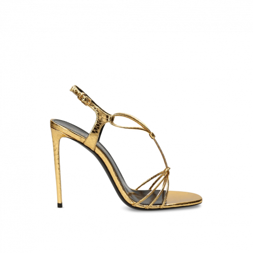 SANDALE BRIDE CROISEE SAINT LAURENT PARIS
