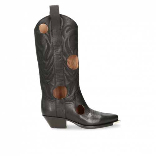 BOOTS SANTIAG OFFWHITE