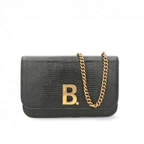 B WALLET ON CHAIN BAG BALENCIAGA