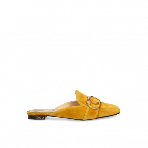 BUCKLE MULES CHARLOTTE OLYMPIA