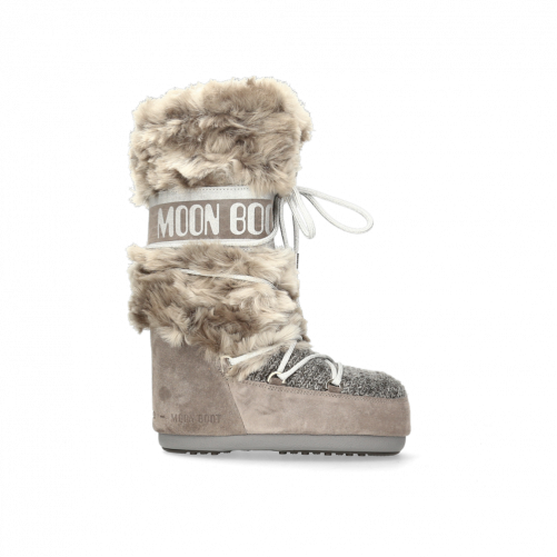 MOON BOOT WOOL FUR
