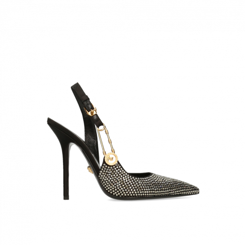 SAFETY PIN PUMPS VERSACE