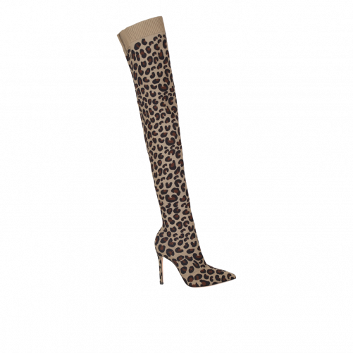 SAUVAGE OVER-THE-KNEE-BOOTS GIANVITO ROSSI