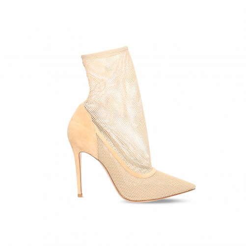 MESH ANKLE BOOTS GIANVITO ROSSI