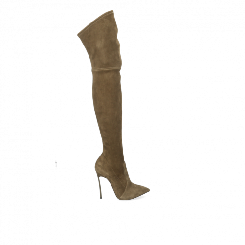 BLADE OVER-THE-KNEE BOOTS CASADEI