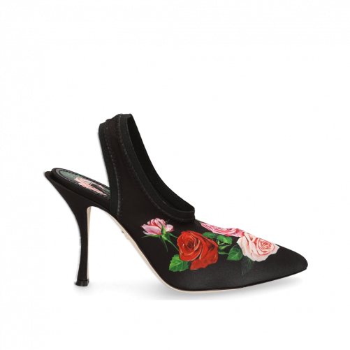 Roses printed Pumps